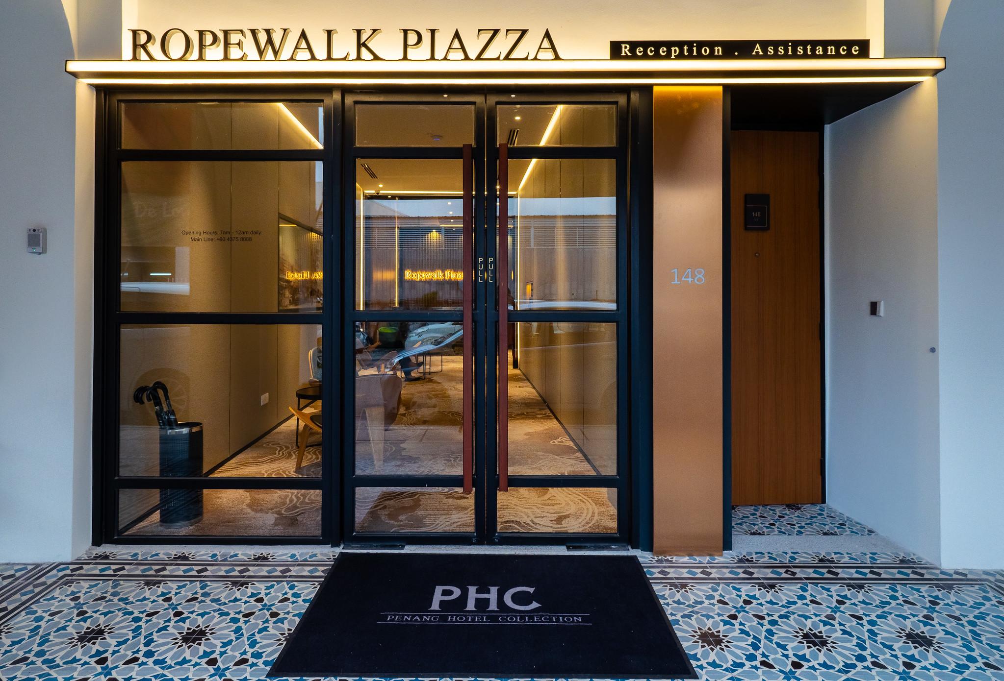 Ropewalk Piazza Hotel Lobby Front
