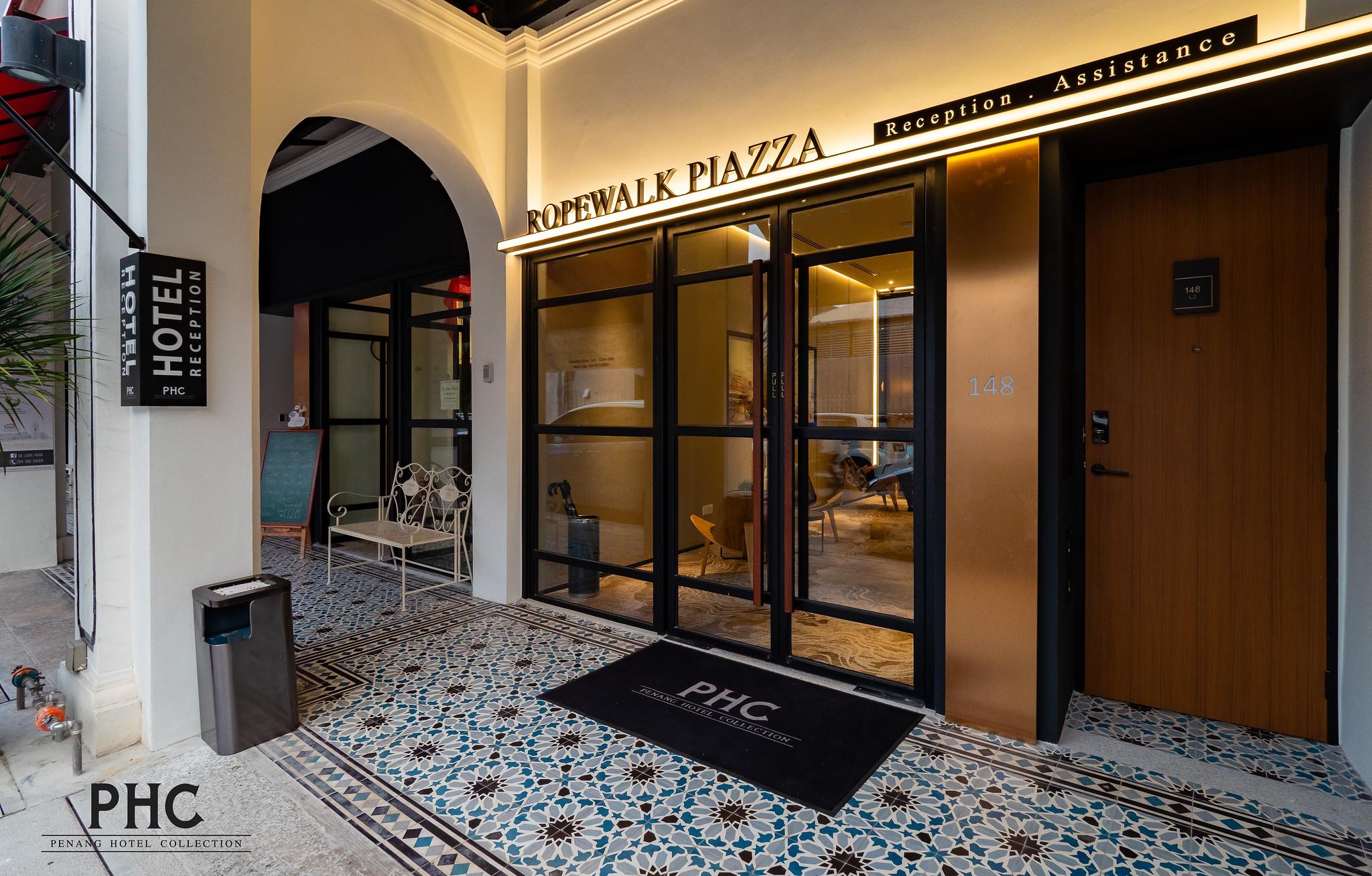 Ropewalk Piazza Hotel Lobby Side